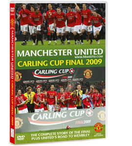 Manchester United - Carling Cup Final 2009 (DVD)