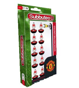Manchester United Subbuteo Team