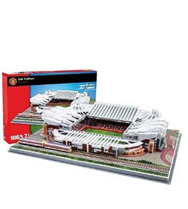 Manchester United 3D Football Stadium Puzzle