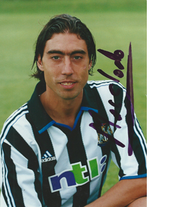 Marcelino Newcastle Photo (Signed)