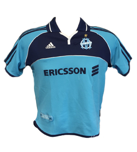 Marseille 2000-01 Home Shirt