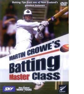 Martin Crowe's Batting Master Class (DVD)