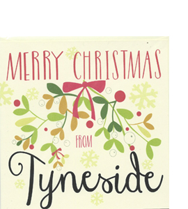Merry Christmas From Tyneside (Greeting Card)