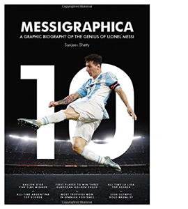 Messigraphica. A Graphic Biography Of Lionel Messi (HB)
