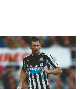Mike Williamson Newcastle Photo (Signed)