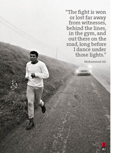 Muhammad Ali Doing Roadwork (Greeting Card)