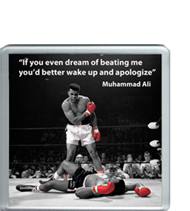 Muhammad Ali Quote (Coaster)