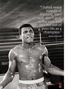 Muhammad Ali Training at Deerpark (Greeting Card)