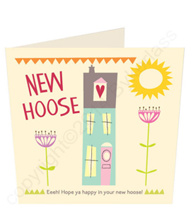 New Hoose Geordie Card