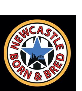 Newcastle Born & Bred (Glass Coaster)