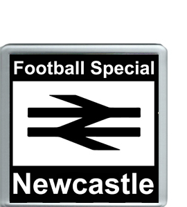 Newcastle Football Special (Coaster)
