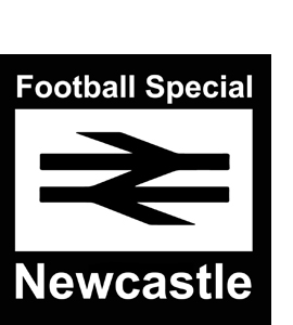 Newcastle Football Special (Glass Coaster)