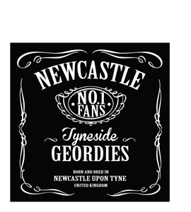Newcastle Jack Daniels (Greetings Card)