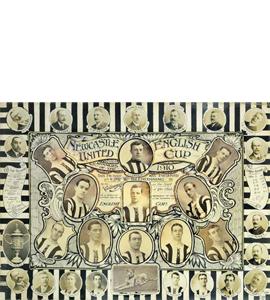 Newcastle United 1910 FA Cup Winners (Print)