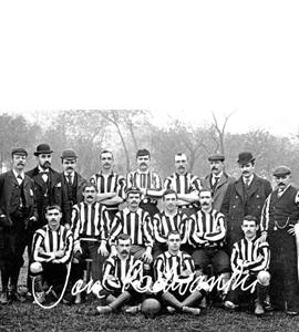Newcastle United Team 1895 (Print)