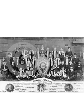 Newcastle United Team Photo 1907-08 (Print)