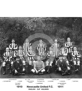 Newcastle United Team Photo 1910-11 (Print)