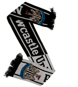 Newcastle United Football HH Scarf