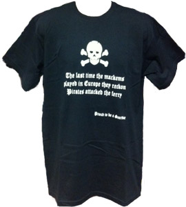 Newcastle United Pirates Anti-Mackem (T-Shirt)