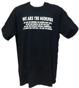 Newcastle United - We Are The Geordies - Black (T-Shirt)
