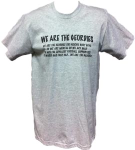 Newcastle United - We Are The Geordies - Grey (T-Shirt)