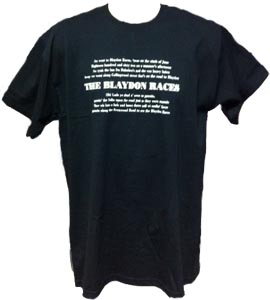 Newcastle United Blaydon Races - Black (T-Shirt)