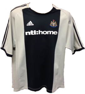 Newcastle United 2002/03 Away Shirt