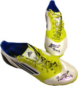 Newcastle United Vurnon Anita Match Worn Boots (Signed)
