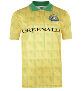 Newcastle United 1990 Away Shirt