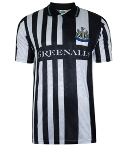 Newcastle United 1990 Home Shirt
