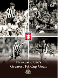 Newcastle United Greatest FA Cup Goals (DVD)