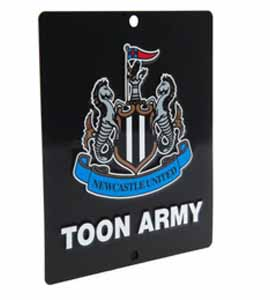 Newcastle United F.C. Window Sign SQ