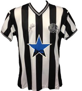 Newcastle United Shirt Signed by Kevin Keegan (Signed)