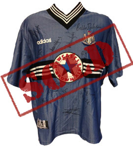 Newcastle United 1998/99 Away Shirt (Signed)