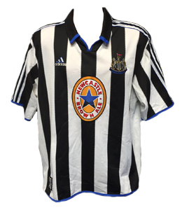 Newcastle United 1999-00 Home Shirt