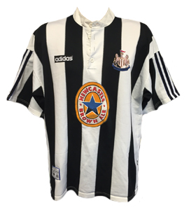Newcastle United 1995-97 Home Shirt