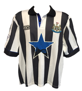 Newcastle United 1993-95 Home Shirt