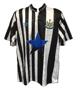 Newcastle United 1991-93 Home Shirt