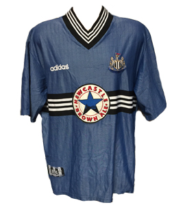 Newcastle United 1996-97 Away Shirt
