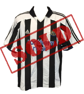 Newcastle United 2003-05 Home Shirt