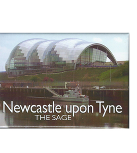 Newcastle Upon Tyne The Sage (Fridge Magnet)