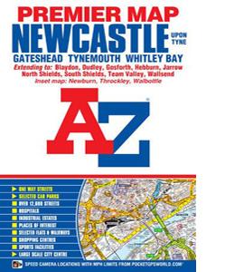 Newcastle Upon Tyne Premier Map