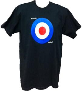 Newcastle / England Mod Target (T-Shirt)