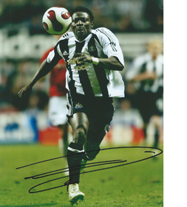Obafemi Martins Newcastle Photo (Signed)