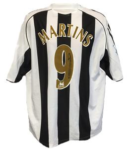 Obafemi Martins Newcastle United Shirt 06/07 (Match-Worn)