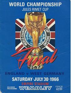 Original 1966 World Cup Programme