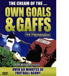 Own Goals And Gaffs - The Premiership (DVD)