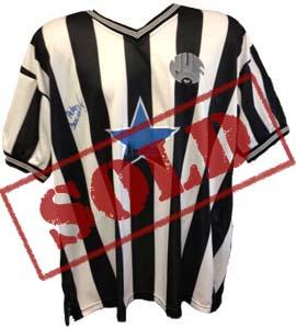 Peter Beardsley Newcastle United Replica 1984/85 Shirt (Signed)
