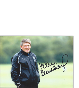 Peter Beardsley Newcastle Photo (Signed)