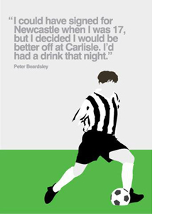 Peter Beardsley (Greetings Card)
